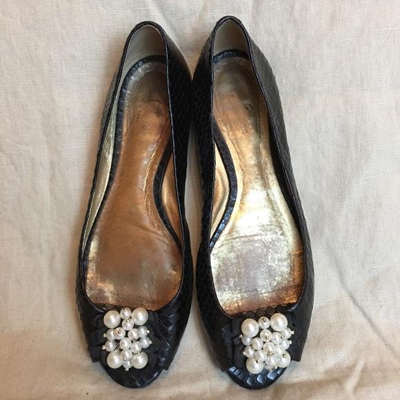 c82d6ecb788 kate spade Shoes - Kate Spade Black Flats Size 8.5
